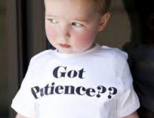 Got Patience????????